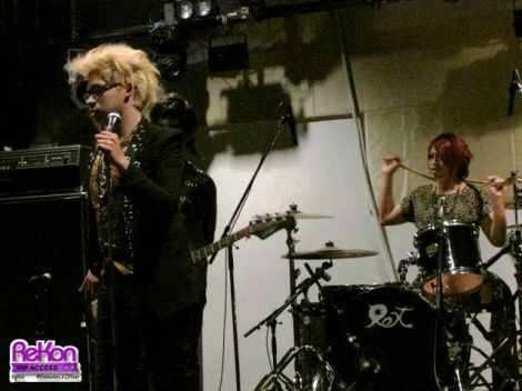 Soundcheck in Shibuya REX (17 Oct 2014).