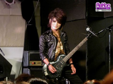 Kamite guitarist Rukka