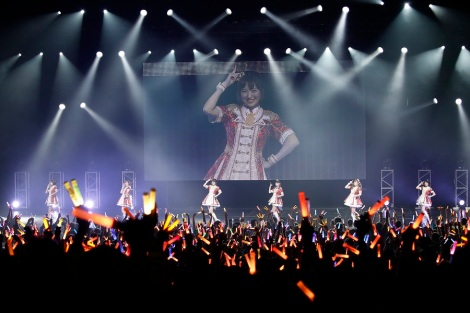 The First Artist To Brace Stage Was THE IDOLMSTER CINDERELLA GIRLS Performing With A Special Selection Of Performers Asami Takano Haruka Yoshimura